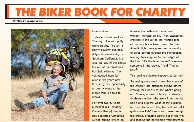 The Biker Book for Charity